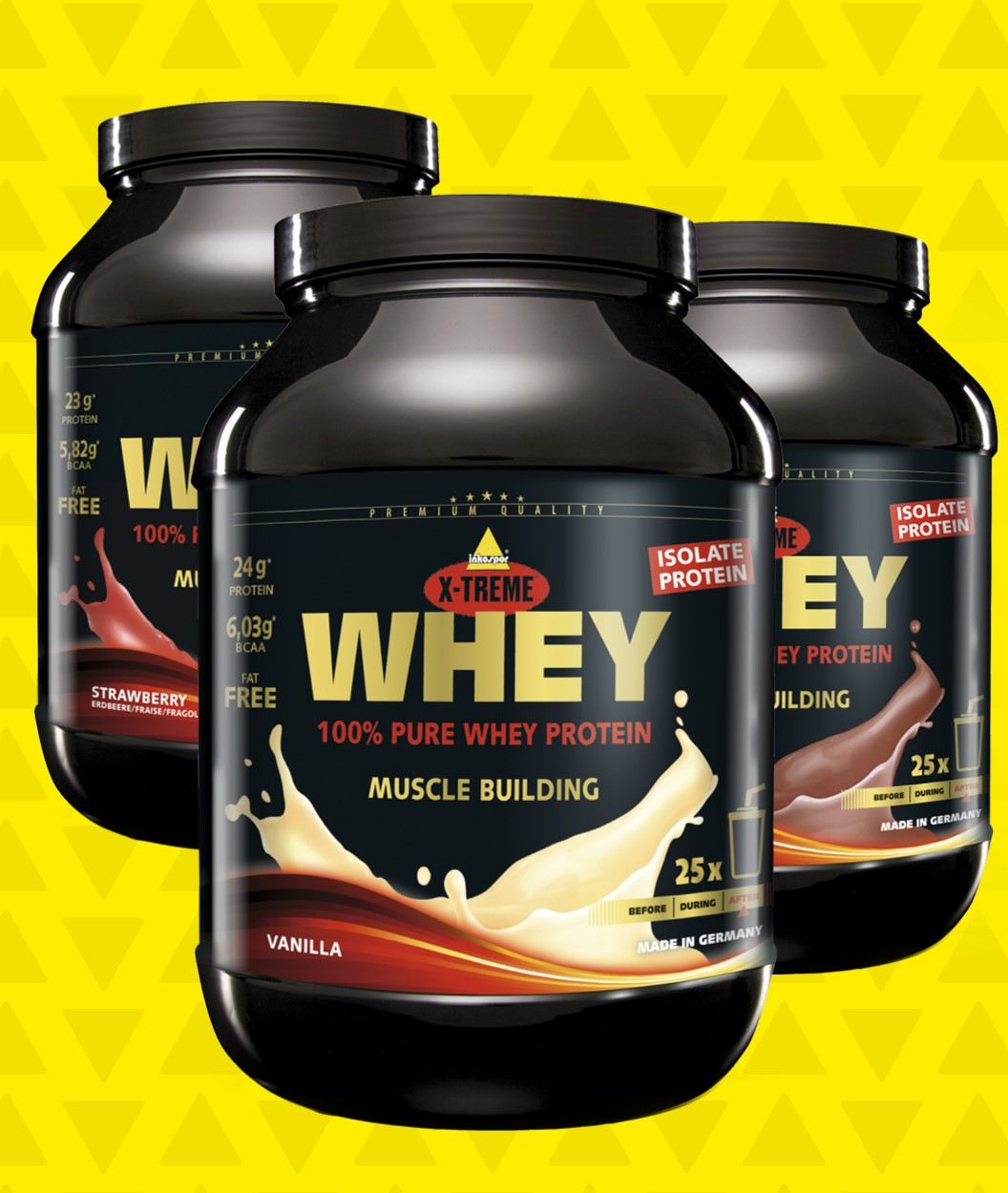 whey protien Searching for whey protein - vanilla usually when buying protien i'm very picky with taste and who makes it get one 50% off on all the vitamin shoppe.