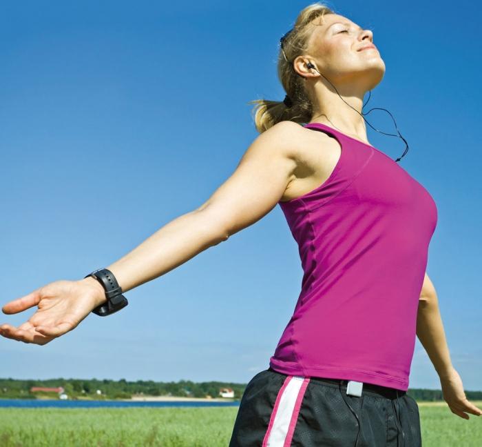 Selbst Atmen lässt sich trainieren
