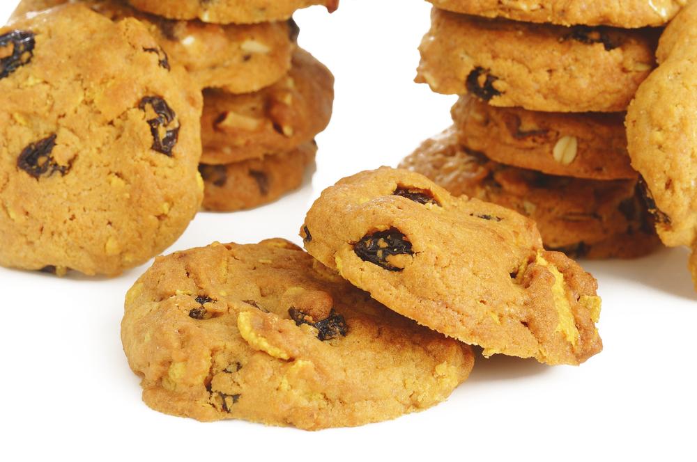Eiweiß Kekse mit Mandel und Zimt