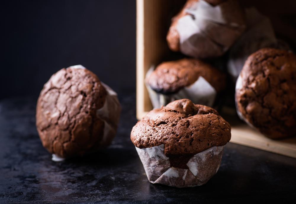 Whey & Crispy Chocolate -Protein Muffins