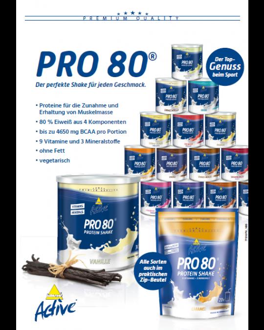 A4 Poster Pro 80 - Der perfekte Shake