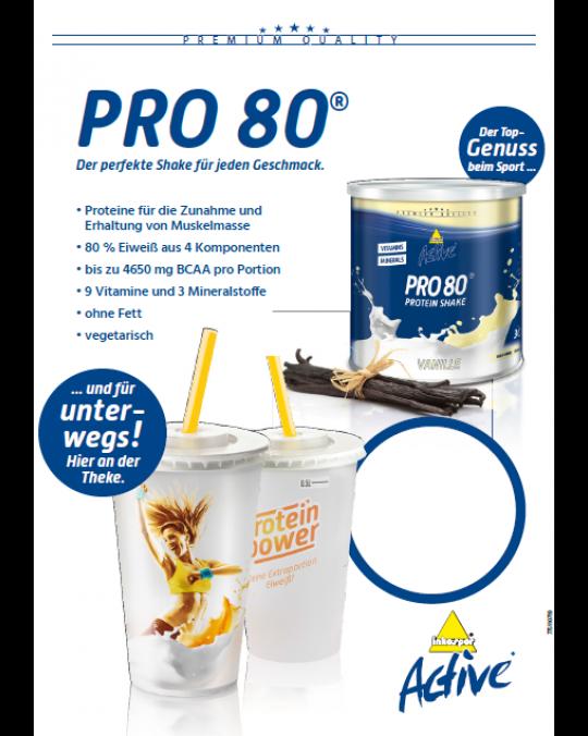 A1 Poster Pro 80 Shake-Becher