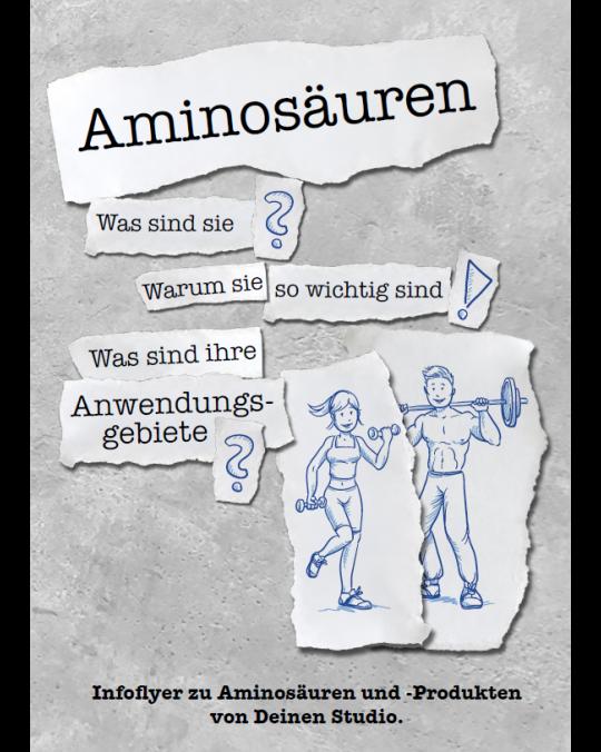 A5 Infoflyer Aminosäuren