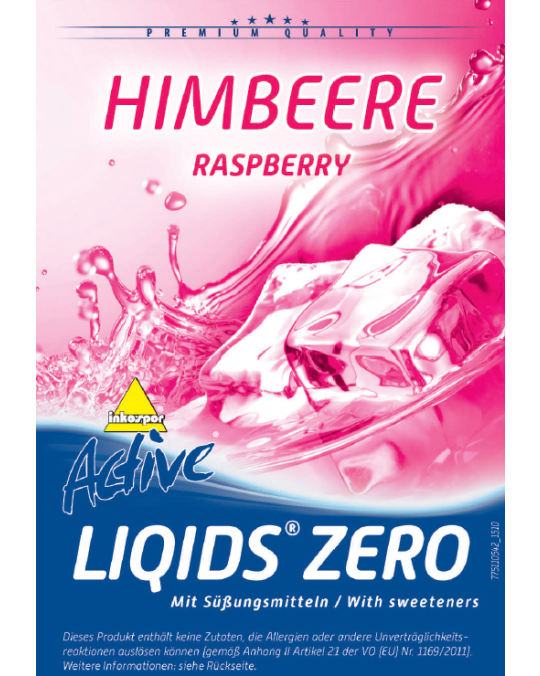 Active Liqids® Zero 1:30 Bag in Box Raspberry