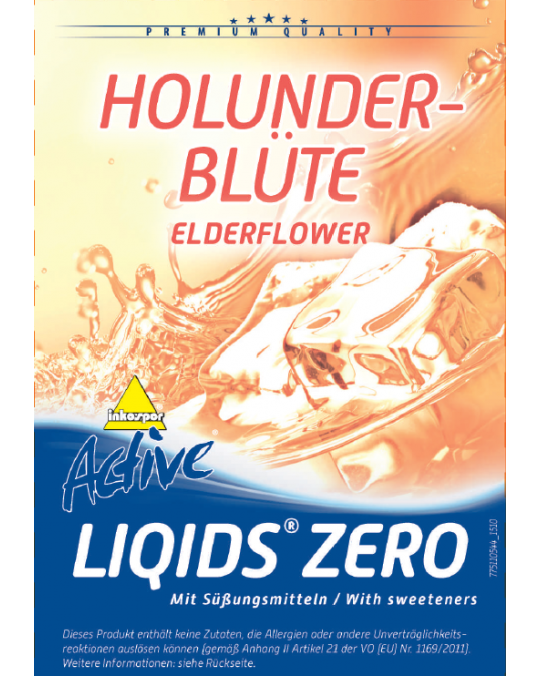 Active Liqids® Zero 1:30 Bag in Box Elderflower