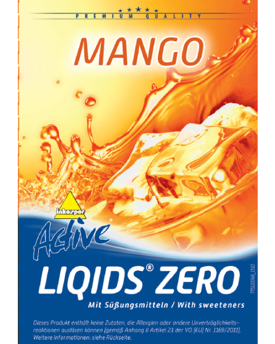 Active Liqids® Zero 1:30 Bag in Box Mango