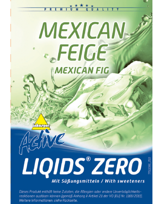 Active Liqids® Zero 1:30 Bag in Box Mexican Fig