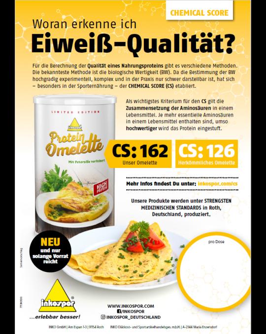 A4 Poster Inkospor Omelette