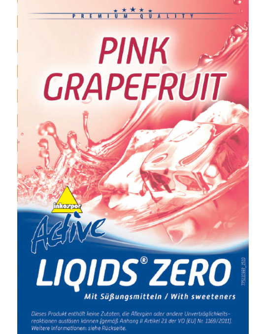 Active Liqids® Zero 1:30 Bag in Box Pink-Grapefruit