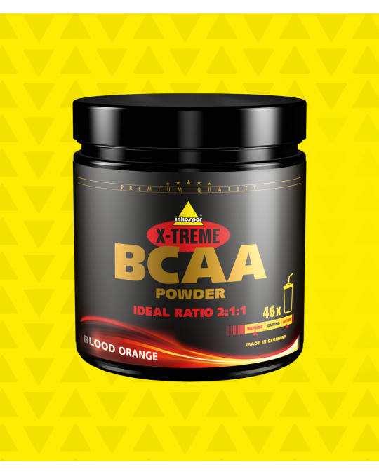 X-Treme BCAA Pulver Blood Orange