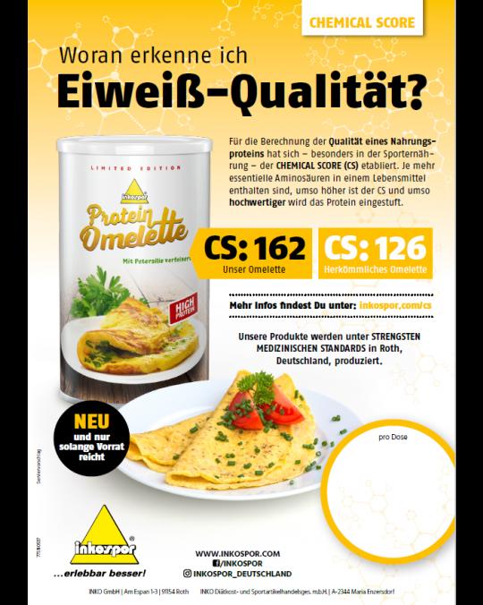 A1 Poster Inkospor Omelette